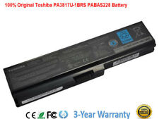 New PA3817U-1BRS Genuine Original Toshiba Satellite L655 L655D Battery PC Laptop
