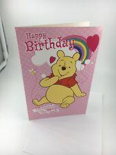 Happy Birthday Winnie The Pooh  Greeting Card