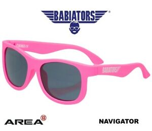 BABIATORS NAVIGATOR SUNGLASSES, CHILDREN'S SUNGLASSES, THINK PINK 0 - 2 YEARS, K