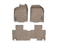 WeatherTech FloorLiner Mats- Ford Edge '11-'14 / Lincoln MKX '11-'15 - Tan