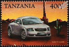 AUDI TT COUPE Mint Automobile Car Stamp (1999 Tanzania)