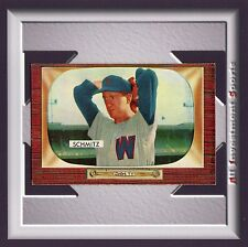 1955 Bowman JOHNNY SCHMITZ #105 NM *awesome card for your set* M40C