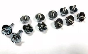 Stainless Steel Bolt Kit for securing under trays under Toyota MR2 mk1 AW11 1.6L