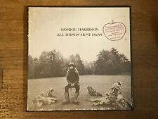 George Harrison SEALED 3 LP w/ Hype - All Things Must Pass - Apple STCH 639