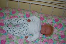Reborn Baby Puppe 60cm Lebensecht Handgefertigt gebraucht