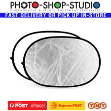 AU Godox 2 in 1 Collapsible Reflector 100 X 150 Cm ( White Silver ) Rft-02