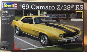 Revell 07081 '69 Camaro Z/28 RS 1:25 ovp
