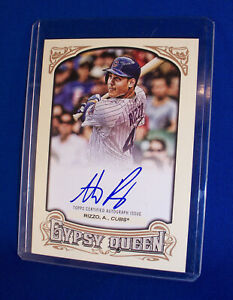 2014 Topps Gypsy Queen Anthony Rizzo Auto