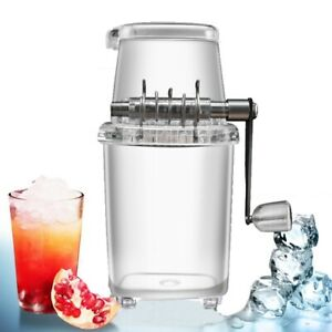 Crank Kitchen Tools Summer Ice Blender Ice Crusher Manual Shaver Ice Chopper
