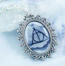 Deathly Hallows Necklace - Handmade Jewelry - Fantasy - Harry Potter - Magic
