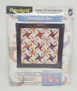 Omnigrid Quilting Templates Pandora's Box rotary cutting acrylic Jorgenson