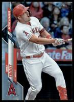 2020 Update Base Rainbow Foil #U-243 Mike Trout - Angels