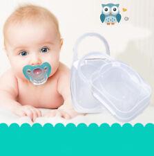 New Portable Boy Girl Infant Pacifier Nipple Case Cradle Holder Storage Box