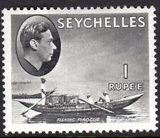 Seychelles1938 grey-black 1r chalk paper multi-script mint SG146a