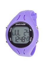 NEW Swimovate PoolMate 2 PURPLE Swimming Computer Lap Counter Watch Pool Mate