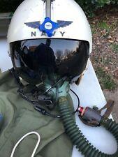 United States Us Navy Flight Helmet O2 Owner Id