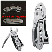Multi-tool Pliers Jaw Screwdriver Survival Tool Adjustable Car Wrench Tool Knife