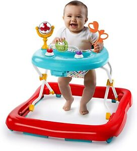 Bright Starts Pack of Pals Baby Walker - folds flat when not in use
