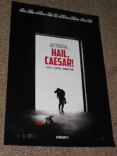 HAIL, CAESAR! 27x40 ORIGINAL D/S MOVIE POSTER Coen Brothers