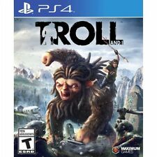 PS4 Troll and I NEW Sealed REGION FREE USA Game