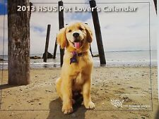 Humane Society of the United States HSUS 2013 Pet Lover's Calendar Unused