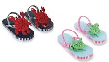Mud Pie Boathouse Baby Crab and Under the Sea Turtle Flip Flops