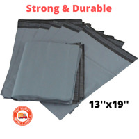 Extra Large 13''x19'' Grey Mailing Bags Poly Postage Self Seal Packing Post Bags