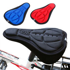 Bicycle Seat Cover Bike Saddle 3D Soft Comfortable Foam Seat Cushion Cycling Men