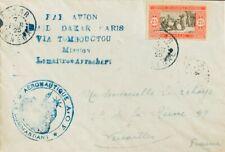 Senegal. Sobre Yv 76. 1925. 25 cts rojo y negro. Correo Aéreo DAKAR a VERSALLES