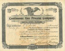 Three Original Stock Certificates - Gas & Oil