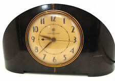 Old electric mantel clocks