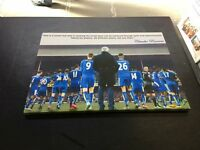 "Ranieri Leicester City 2015/2016 Canvas Print (26""x18"")"