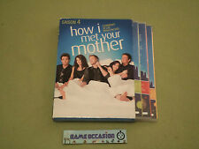 HOW I MET YOUR MOTHER STAGIONE 4 COME JE L'HANNO INCONTRATO COFANETTO 3 DVD