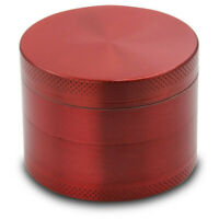 UK 4-layer Aluminum Herbal Herb Tobacco Grinder Smoke Grinders NEW