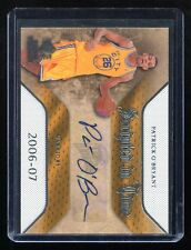 2007-08 SP Rookie Threads Scripted In Time Autograph #SIT-PO Patrick O'Bryant