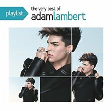 ADAM LAMBERT CD - PLAYLIST: THE VERY BEST OF ADAM LAMBERT (2014) - NEW UNOPENED