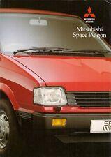 Mitsubishi Space Wagon 1800 GLX 1990-91 UK Market Sales Brochure