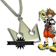 KINGDOM HEARTS COLLANA CORONA SORA DISNEY KEYBLADE COSPLAY 2 II necklace riku 3