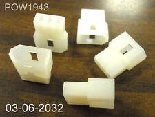 ( 23  PC. ) MOLEX 03-06-2032  3/C TERMINAL HOUSING FOR .062
