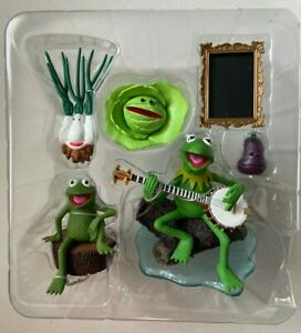 Palisades Muppet Show RAINBOW CONNECTION KERMIT & ROBIN Figures Muppets Frog NEW