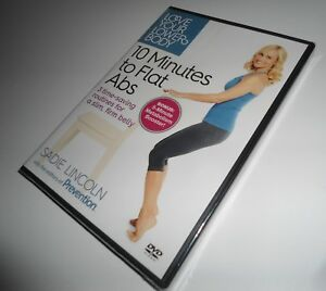 Love Your Lower Body 10 Minutes to Flat Abs Workout Sadie Lincoln (DVD NEW) Ten