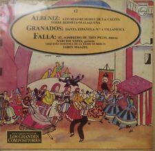 ALBENIZ, GRANADOS, FALLA -SERIE LOS GRANDES COMPOSITORES- MEX. LP STILL SEALED