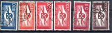 Portugal Poste Aérienne Lot de 6 timbres oblitérés anciens, départ à petit prix