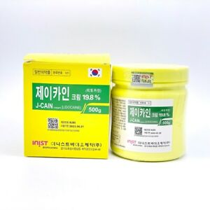 Skin Topical Anesthetic Numbing Premium Tattoo Numb Piercing 6 Effects 500g JCan