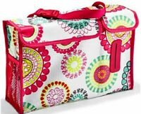 THIRTY ONE 31 Pack n Pull Caddy Citrus Medallion Bag CAR Organizer Backseat Tote