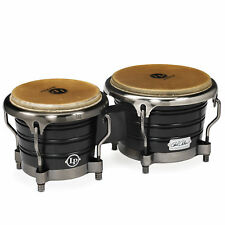 Latin Percussion LP Raul Rekow Signature Bongos Black