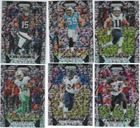 2017 Panini Prizm Football - Disco Prizm Parallels - Choose From Card #'s 1-300