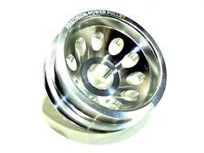 OBX Silver Crank Pulley For Nissan 02-06 350Z 02-07 Infiniti G35 3.5L VQ35DE