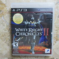 WHITE KNIGHT CHRONICLES II 2 ✨Playstation 3 PS3✨ USA Complete ✨ Level 5 RPG