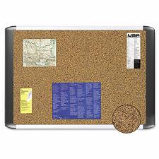 Mastervision Tech Cork Board 48x72 Silverblack Frame Mvi270501